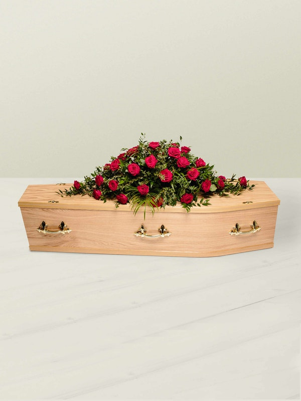 Rose Coffin Spray Side 2